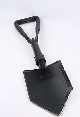 E Tool Shovel Entrenching Ames Genuine USA Military Grade USA Black e-tool
