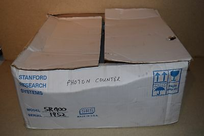 ^^ Stanford Research Systems Srs Sr400 Two Channel Photon Counter -New In Box