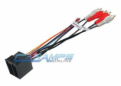 705701 Car Stereo Wiring Harness Wire Adapter Plug Aftermarket Radio on