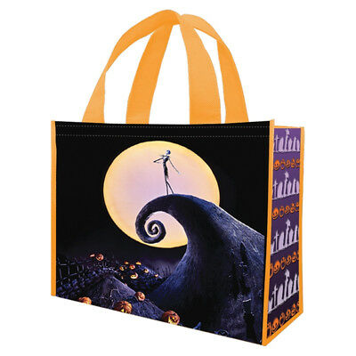 The Nightmare Before Christmas Jack Poster Large Recycled Shopper Tote Bag NEW