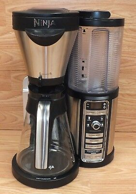 Ninja (CF082) Single Serve Option Coffee Maker Bar Brewer w/ Glass Carafe *READ*
