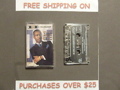 """Mc Hammer Please Hammer Don't Hurt Em Cassette W/ """"U Can't Touch This"""""""