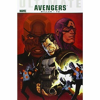 Ultimate Comics Avengers: Crime and Punishment - Paperback NEW Mark Millar 2011-