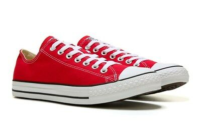 Converse Mens Chuck Taylor All Star Low Top Sneaker Red Shoes 2018 **best Seller