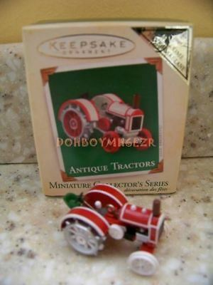 Hallmark 2005 Antique Tractors Series Miniature KOC REPAINT Christmas Ornament