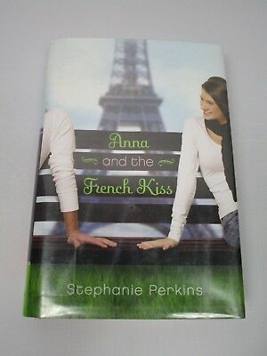 Stephanie Perkins Anna and the French Kiss Ex Library Hardcover 2010