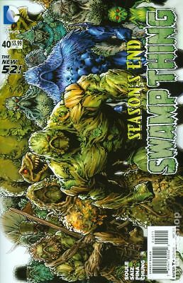 Swamp Thing (5th Series) #40 2015 VF Stock Image