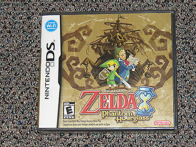 The Legend of Zelda: Phantom Hourglass Nintendo DS 2007 Brand New Sealed LoZ NM