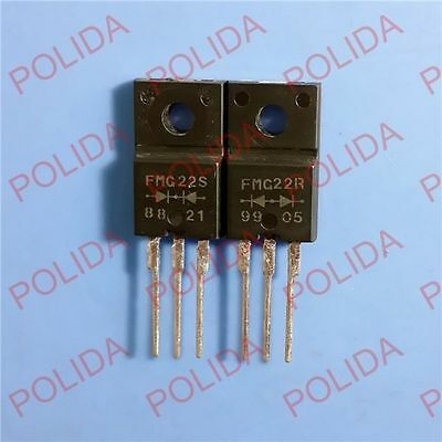 1pairs or 2PCS Super Fast Recovery Rectifiers DIODE SANKEN TO-220F FMG22R/FMG22S