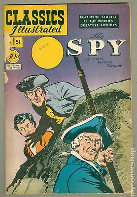 Classics Illustrated 051 The Spy 1C 1963 GD- 1.8