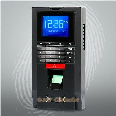 Biometric Fingerprint Time Attendance And Access Control With RFID Reader+USB