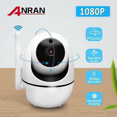 ANRAN Wireless IP Camera HD 1080P Network Wifi Indoor Night Vision Security Home