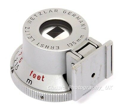 SHOOC 12030 BRIGHT Line Finder 135mm for LEICA LTM Leica-M 135mm / 13.5cm Lenses