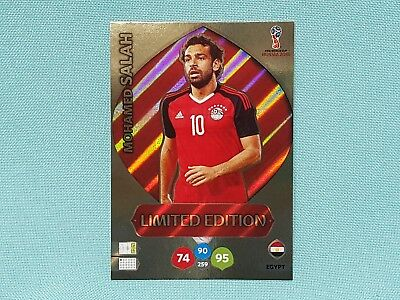 Panini Adrenalyn World Cup Russia 2018 WM Mohamed Salah - Limited Edition
