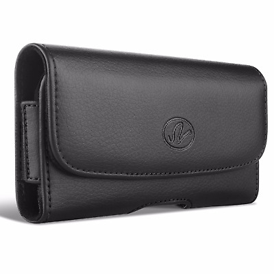 AT&T LG Phones Premium Horizontal Leather Carrying Case Case