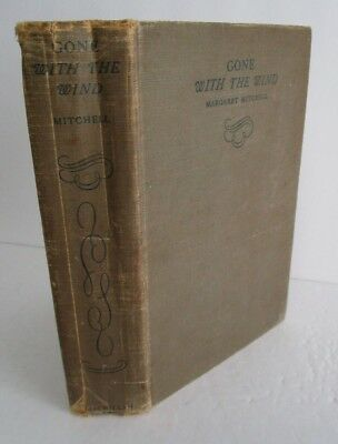 Margaret Mitchell GONE WITH THE WIND July 1936 Printing
