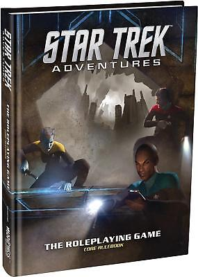 Modiphius Star Trek Adventures Star Trek Adventures - Core Rulebook HC SW