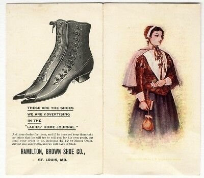 HAMILTON BROWN SHOE CO St Louis MO c 1900 Advertising Brochure