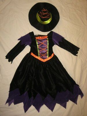 Adorable Koala Kids Witch Halloween Dress Up Costume Size 4T Free Priority Mail