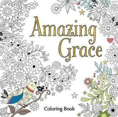 Amazing Grace Adult Coloring Book [Coloring Faith]