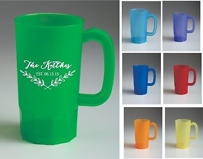 150  14 oz Custom Printed Personalized Beer Stein Mugs