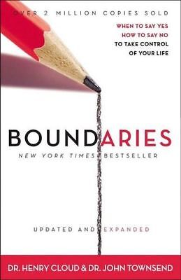 NEW Boundaries By Henry Cloud Paperback Free Shipping
