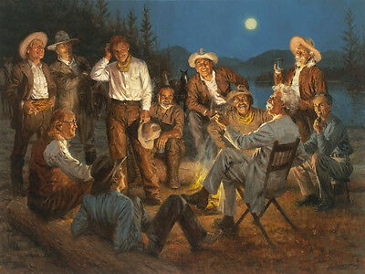 Andy Thomas American Storytellers Signed Print 16 x 12