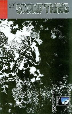 Swamp Thing (5th Series) #9B 2012 VF Stock Image