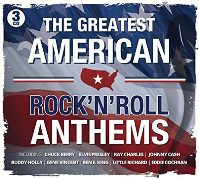Various-The Greatest American Rock`n`roll Anthems  (Uk Import)  Cd New