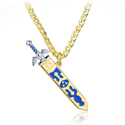 Zelda Jewelry Master Sword Necklace the Legend of Zelda jewelry Stainless Steel!