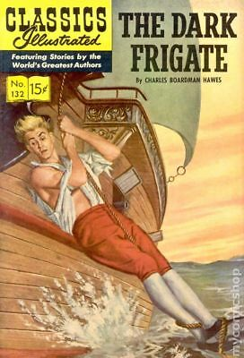 Classics Illustrated 132 The Dark Frigate #1 1956 GD/VG 3.0 Stock Image