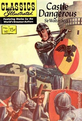 Classics Illustrated 141 Castle Dangerous #1 1957 GD/VG 3.0 Stock Image