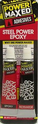 Power Maxed PM8265 JB Cold Weld Formula Steel Reinforced Epoxy Adhesive RM24Post