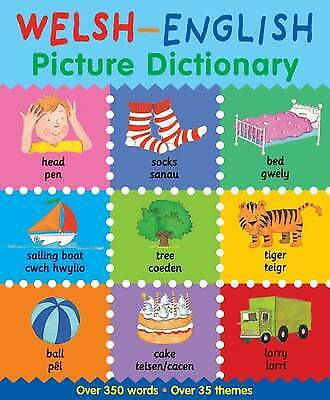 Welsh-English Picture Dictionary, Catherine Bruzzone, Louise Millar, New
