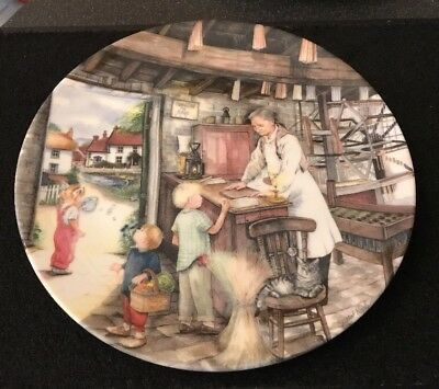 Royal Doulton Old Country Crafts - The Candle Maker Collectors Plate Susan Neale