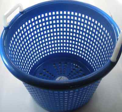 XFS05FA9002 Polyethylene Fish Shrimp Basket Blue 14037