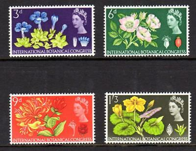 1964 GB INTERNATIONAL BOTANICAL CONGRESS SG 655 - 658 MNH Stamp Set Mint