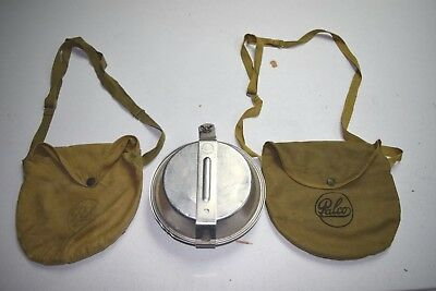 Vintage PALCO Boy Scout Aluminum Mess Camping 2 Bags