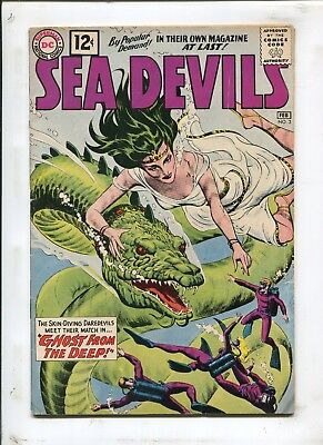 Sea Devils #3 - Ghost From The Deep! - (4.5) 1962