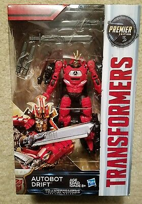 Transformers The Last Knight AUTOBOT DRIFT Action Figure Deluxe Class Premier