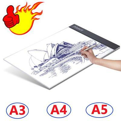 A3 A4 A5 USB LED Art Artist Stencil Board Light Tracing Drawing Pad Table Box
