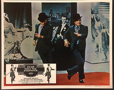 Gene Kelly Fred Astaire dancing That's Entertainment part 2 lobby card 1614