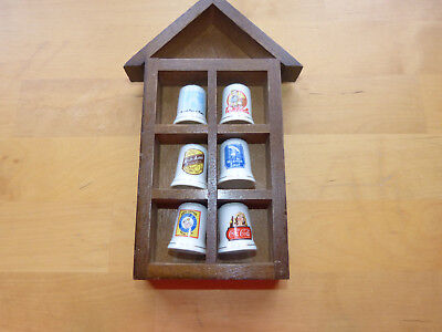 Thimble Holder with 6 Thimbles