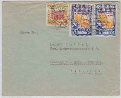 Ecuador, Brief Quito 1936 n. Deutschland
