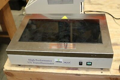 Working Uvp High Performance Ultraviolet Transilluminator Tfm-40 Working
