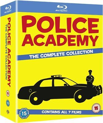 Police Academy - The Complete Collection (7 Films) Blu-Ray NEW BLU-RAY (10004383
