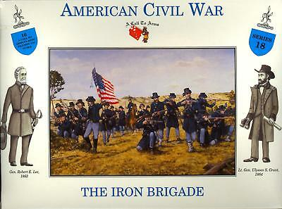 A Call to Arms Models 1/32 UNION INFANTRY THE IRON BRIGADE American Civil War