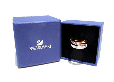a458d7430 Swarovski Hero Rose Gold Ring Size 50/5XS 5366555 Bargain Crystal Jewelry  Boxed