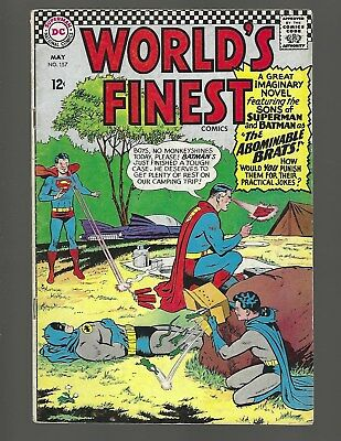 World's Finest #157 The Abominable Brats