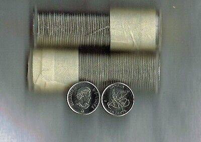 2017 Canadian Brilliant Uncirculated Commemorative Wings of Peace Roll 10C Coin!